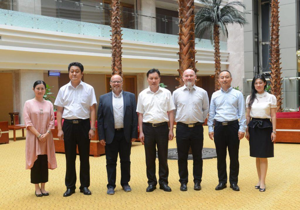 Le jumelage entre Saverne et Binzhou, officialisé.